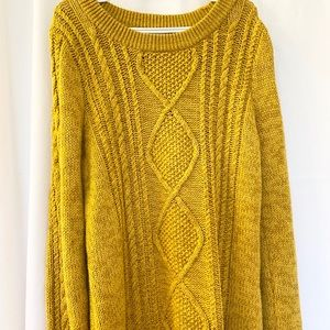 Burnt yellow Old Navy sweater!